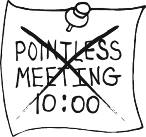Culture Image 3 - unproductive pointless meetings and events